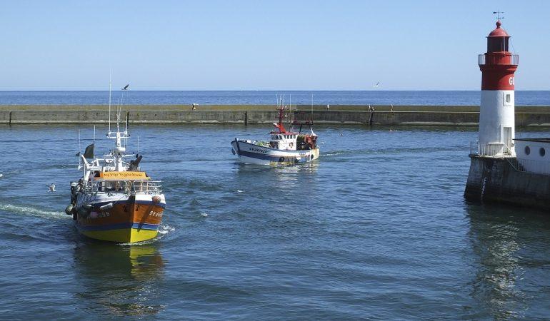 le port de pêche du Guilvinec dans le Sud du Finistère